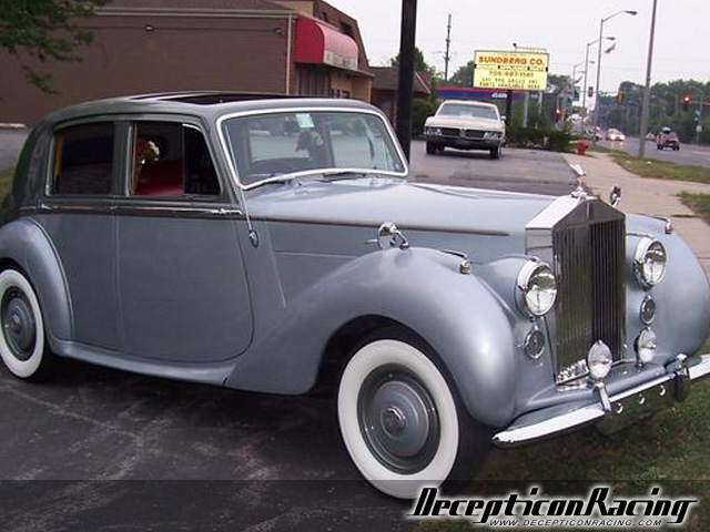 1950-Rolls-Royce's modified 1950 Rolls_royce Silver Dawn