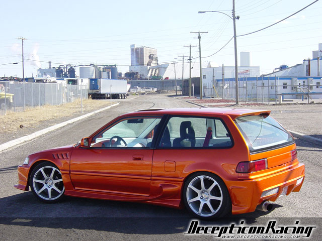 1990 Honda Civic Hatchback Modified Car Pictures