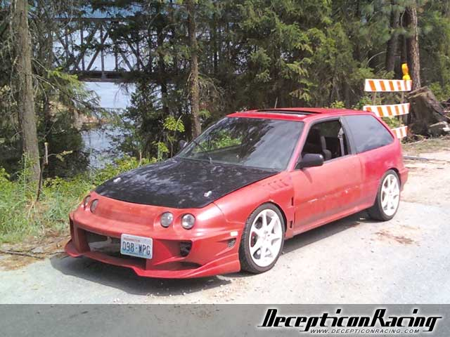 1991 Honda Civic Si Modified Car Pictures