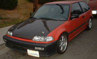 Greg's 1988 Honda Civic DX