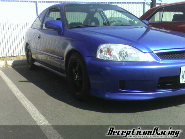 1999 Honda Civic Si Modified Car Pictures
