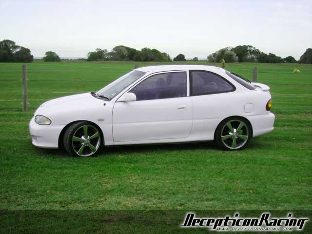 1996 Hyundai Excel Modified Car Pictures