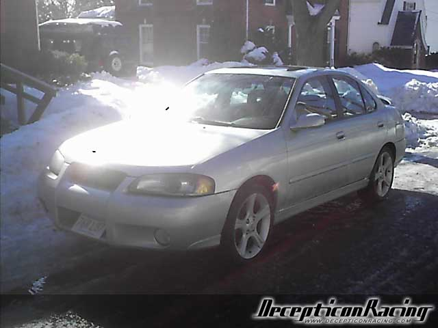 2002 Nissan Sentra SE-R SPEC V Modified Car Pictures