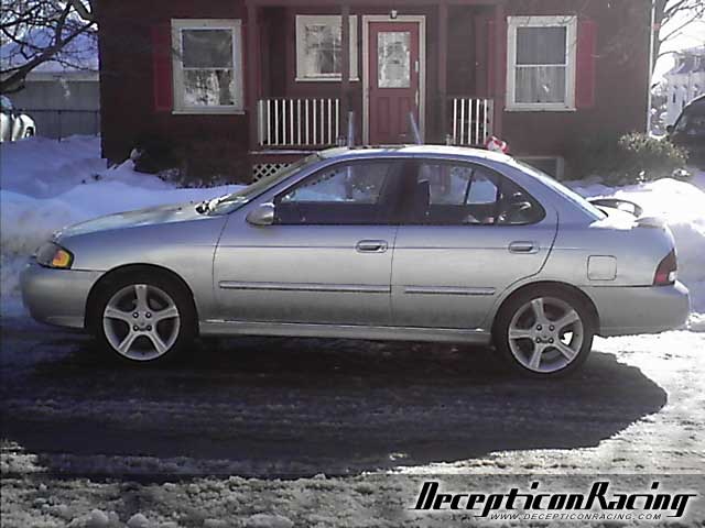 2002 nissan sentra se r spec v modified car pictures decepticon racing. Black Bedroom Furniture Sets. Home Design Ideas