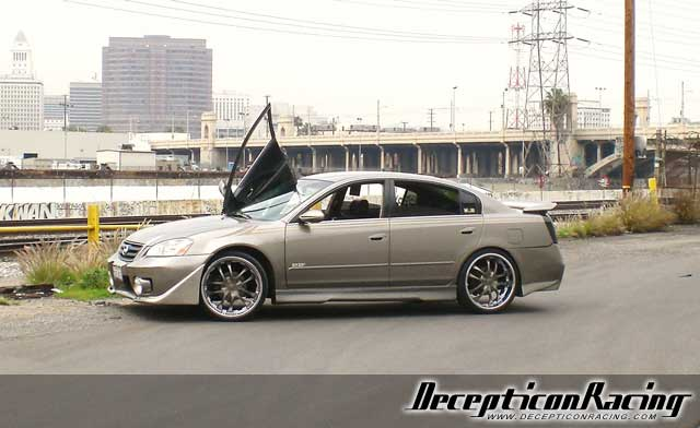 2004 Nissan Altima Modified Car Pictures