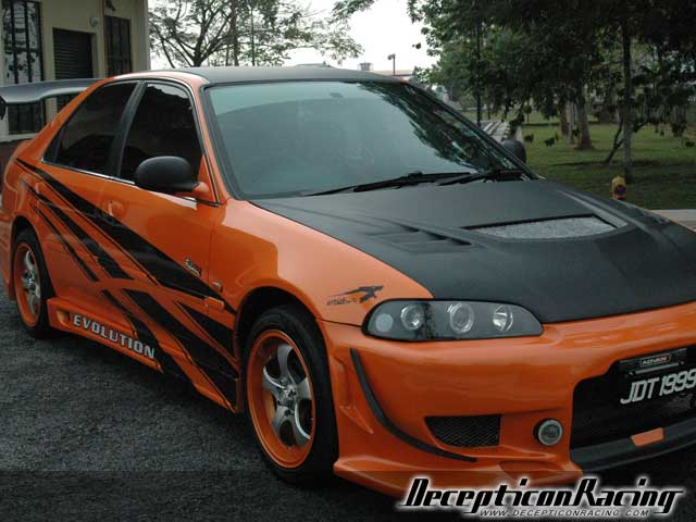 1995 Honda Civic Modified Car Pictures