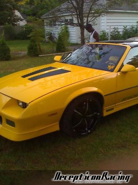 YellowJacket's 1985 Chevrolet Iroc-z28 Camaro Modified Car Pictures